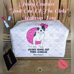 """Juicy Couture""""Just One of the Girls"""" Makeup Bag"""